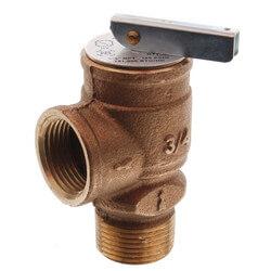 "3/4"" MNPT x 3/4"" FNPT RVW17 791,000 BTU Bronze Relief Valve (125 psi) Product Image"