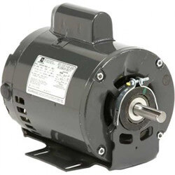 "6.3"" Capacitor Start Belted Fan & Blower Motor (115/208-230V, 3/4 HP, 1725 RPM) Product Image"