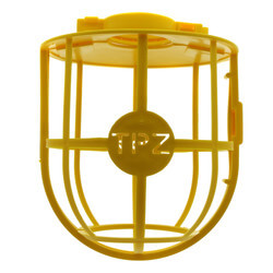 Plastic Yellow Bird Cage for Outdoor String Lights Product Image