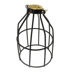 Metal Bird Cage for Outdoor String Lights Product Image