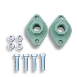 """2-1/2"""" Cast Iron 4-bolt threaded Flange<br>for 1400-70/3 & 2400-70/3 Product Image"""