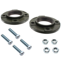 """3"""" Cast Iron 4-bolt threaded Flange for 1400-70/3 & 2400-70/3 Product Image"""