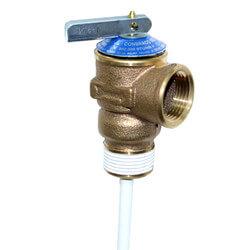 "3/4"" ASME Temperature and Pressure Relief Valve, 150 psi Product Image"