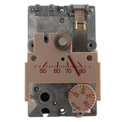TH192S Direct Acting Single Temperature Room Therm. w/ Two Pipe Relay Product Image