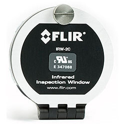 "2"" IRW Infrared Window (Anodized Aluminum) Product Image"