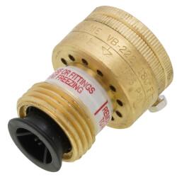 "3/4"" NH BFP VB-222 Self-Draining Vacuum Breaker w/ Lock Screw (Lead Free) Product Image"