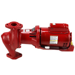 "1/2 HP e608S Series e-60 Bronze Fitted 1-1/2"" x 5-1/4"" In-Line Pump (1 PH, 115/208-230V) Product Image"