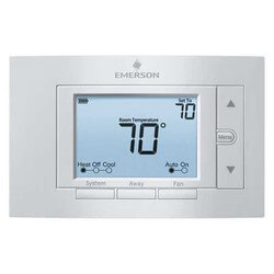 "5"" Display Universal 7-Day Programmable Thermostat, 4 Heat/2 Cool Product Image"