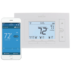 Sensi Pro Wi-Fi Programmable Thermostat for Smart Home, 4H/2C Product Image