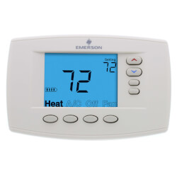 Programmable 4H/2C<br>Easy Reader Blue<br>Digital Thermostat Product Image