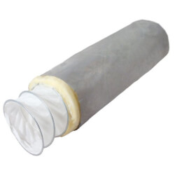 """6"""" x 25 Ft. Fab 6-T Fabriflex Acoustical Duct, R8 (Insulated) Product Image"""