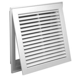 "25"" x 20"" (Wall Opening Size) Steel Return Air Filter Grille (96AFB2 Series) Product Image"