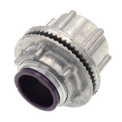"3/4"" Rigid Watertight Hub w/ Insulated Throat Product Image"