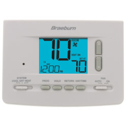 7 Day, 5-2 Day Programmable Thermostat (1 Heat/1 Cool) Product Image