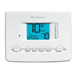 5-2 Day Programmable<br>Thermostat (1 Heat/1 Cool)<br>Builders Series Product Image