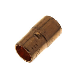 "1/2"" X 3/8"" OD ACR FTGxC Copper Reducer Product Image"