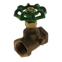 "3/4"" Stop & Waste Valve, IPS (LF) Product Image"