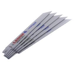 "818R - 8"" Bi-Metal Reciprocating Blade, 5-pk (Metal & Non-Ferrous) Product Image"