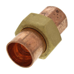 "7/8"" OD ACR Copper Union Product Image"