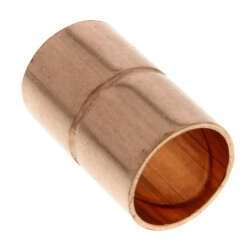 "1-3/8"" OD ACR Copper Coupling w/ Roll Stop Product Image"