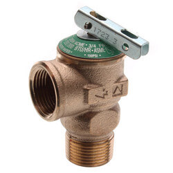 """3/4"""" Lead Free Residential Pressure Relief Valve (150 PSI) Product Image"""