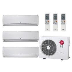 20,000 BTU 21.7 SEER Ductless Three Zone Heat Pump Package (9+9+9) Product Image