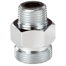 "Hose Adapter, 3/8"" x 3/8"" Male NPT Product Image"
