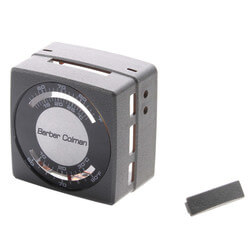 Gray Thermostat Cover<br>w/ Fahrenheit & Celsius Markings Product Image