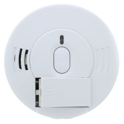 Hard-Wired Ionization Smoke Alarm, Spring Load (120 V) w/ 9v Battery Backup Product Image