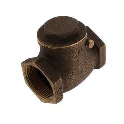 "1-1/2"" Threaded Swing Check Valve, Lead Free Product Image"