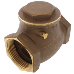 "2-1/2"" Threaded Swing Check Valve, Lead Free Product Image"