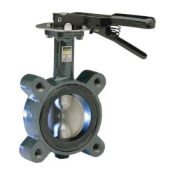 """3"""" ProPress Ductile Iron Butterfly Valve Product Image"""