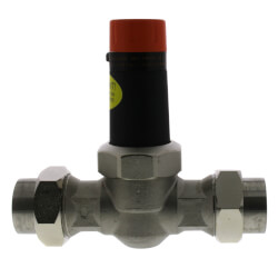 "1"" EB25-DU Double Union SS Pressure Regulating Valve, 45 PSI (Lead Free) Product Image"