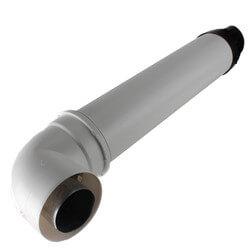 "21"" Horizontal Non-Condensing Vent Termination Kit w/ Elbow Product Image"