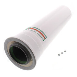 """19.5"""" Condensing Vent Pipe Extension for Ultra Series Product Image"""