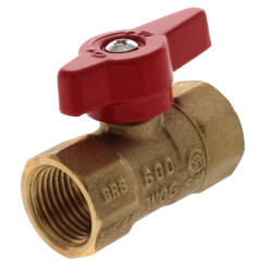 "1/2"" IPS Gas Ball Valve Product Image"