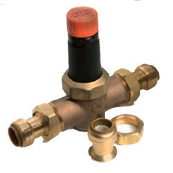 "1"" EB-45 SharkBite Double Union Pressure Regulator, Lead Free (60 PSI) Product Image"