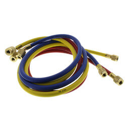 "PLUS II 3-Pack Charging Hoses w/ SealRight fittings (60"" Length) Product Image"