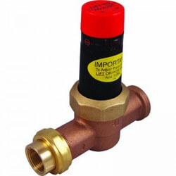 "3/4"" EB25 Single Union Threaded Pressure Regulating Valve, 45 PSI (Lead Free) Product Image"