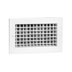"8"" x 4"" (Wall Opening Size) White Supply Register (92HVV  Series) Product Image"