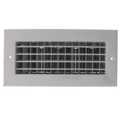"10"" x 4"" (Wall Opening Size) White Supply Register (92HVV Series) Product Image"