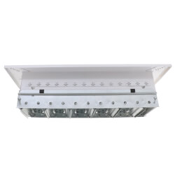 "12"" x 4"" (Wall Opening Size) White Supply Register (92HVV Series) Product Image"