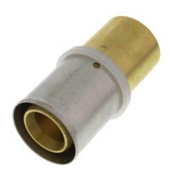 """3/4"""" PEX-AL-PEX (Bag of 10)Press x Copper Pipe Adapter, DZR (Bag of 10) Product Image"""