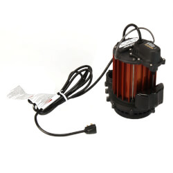 1/3 HP Model 237 Auto Submersible Sump Pump 115V, Vertical Float Product Image