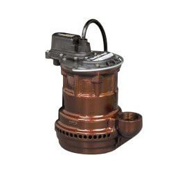 1/4 HP Manual Submersible Pump - 115v - 10 ft Cord, Cast Iron Product Image