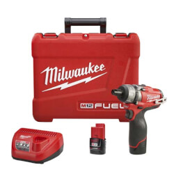 "M12 Fuel 1/4"" Hex 2-Speed Screwdriver Kit Product Image"