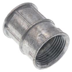"3/4"" Zinc EMT to 3/4"" Female Threaded Rigid Coupling  Product Image"