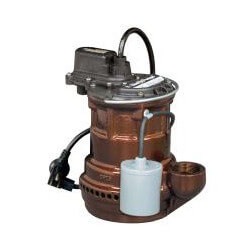 1/4 HP Model 243 Auto Submersible Sump Pump 115V Wide Angle Float Product Image