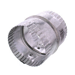 "3"" Galvanized Connector for Rigid, Semi-rigid, and Flexible Duct Product Image"
