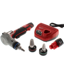 "M12 ProPEX Expansion Tool Kit w/ 1/2"", 3/4"", and 1"" Heads, (2) M12 Batteries, Charger Product Image"